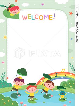 어린이집,유치원,유아원,원아모집,팸플릿 75671958