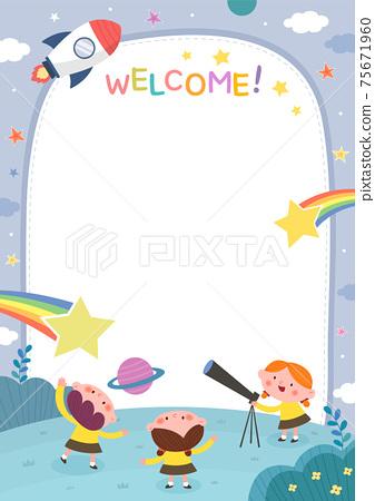 日託中心,幼兒園,幼兒園,招聘,小冊子 75671960
