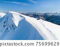 Aerial view of the ski resort in Kolashin 75699629