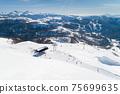Aerial view of the ski resort in Kolashin 75699635