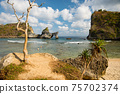 Atuh Beach - Nusa Penida Island, Bali, Indonesia 75702374