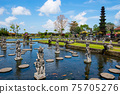 Water temple Tirta Gangga - eastern Bali, Indonesia 75705276