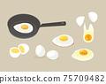 雞蛋圖標集 75709482