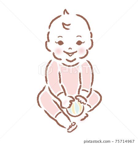 一個嬰兒 75714967