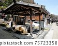 Water place in Narai-juku. There are many water places to heal travelers' throats in the post town near Torii Pass. 75723358