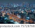 오사카 야경 오사카 베이 타워 75728768