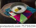韓國傳統食品年糕湯 75730294
