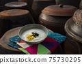 韓國傳統食品年糕湯 75730295