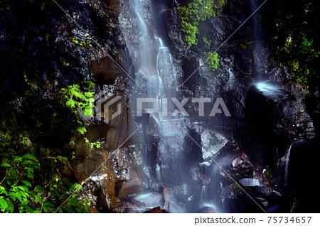 治愈小鹿瀑布,在那裡您可以舒適地感受到水的流淌 75734657