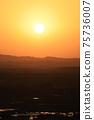 夕陽西下的城市 75736007