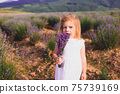 Lavender as a means of pacifying the child 75739169