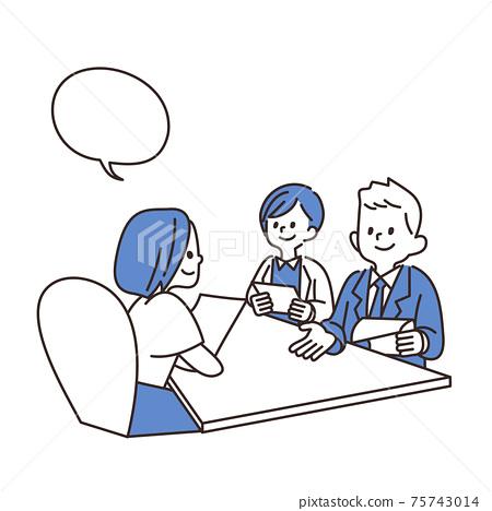 辦公室工作人員業務洽談業務 75743014
