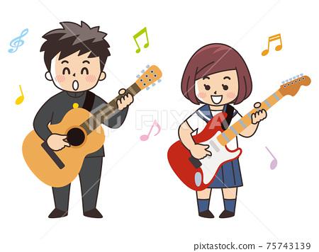 輕音樂俱樂部的中學生和高中生 75743139