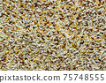 a mixture of sunflower seeds, linseed and sesame seeds 75748555
