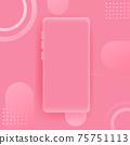Realistic smartphone vector background 75751113
