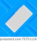 Realistic smartphone vector background 75751116