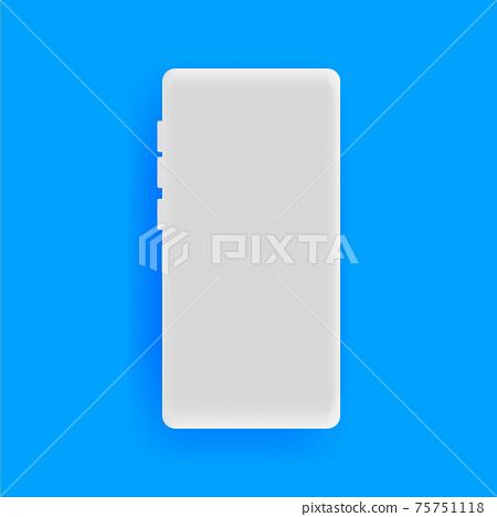 Realistic smartphone vector background 75751118