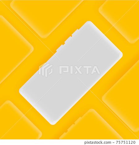 Realistic smartphone vector background 75751120