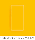 Realistic smartphone vector background 75751121