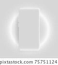 Realistic smartphone vector background 75751124