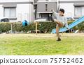축구 공원 소년 75752462