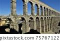 """穿過西班牙世界遺產城市""""塞哥維亞舊城區""""-羅馬渡槽(2) 75767122"""