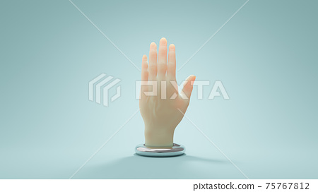 Hand. 75767812
