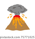재해 화산 폭발 이미지 75771025