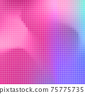 Abstract square pixel mosaic background 75775735