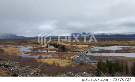 아이슬란드 싱벨리어 국립공원 75776724