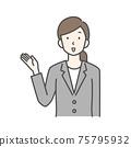 信息豐富的商界女強人 75795932