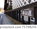 나가노 구 나카 센도 _ 시모스와 숙소의 풍경 75798245
