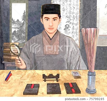 Handsome I Ching fortune teller 75799285