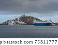 The magic of nature in Lofoten during winter 75811777