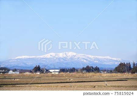 Kurikoma山在冬天 75815024