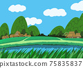 Country landscape 75835837
