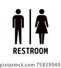廁所標誌設計 75839040