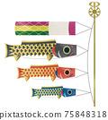 鯉魚旗水彩 75848318