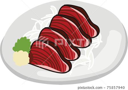 生魚片 刺身 壽司 75857940