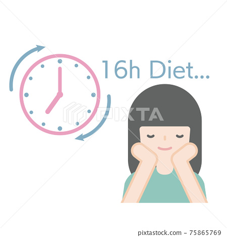 Women who are dieting 75865769