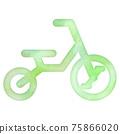 自行車 腳踏車 矢量 75866020