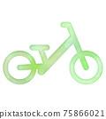 自行車 腳踏車 矢量 75866021