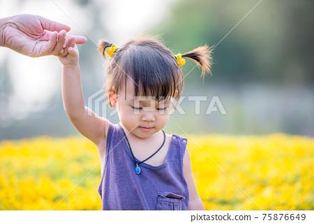 Asian girl 75876649