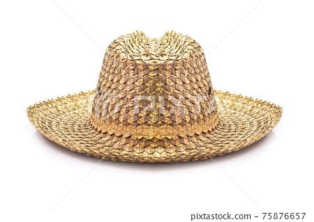 Basketwork hat 75876657