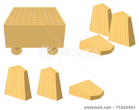 將棋板和將棋件 75888901