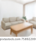 Blurred living room background 75892209