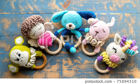 Hand made toys composition 75894310