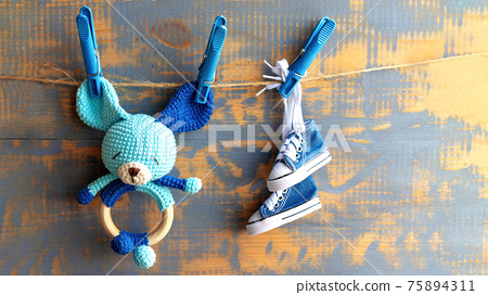 Hand made toy composition 75894311