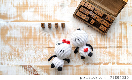 Hand made toys composition 75894339