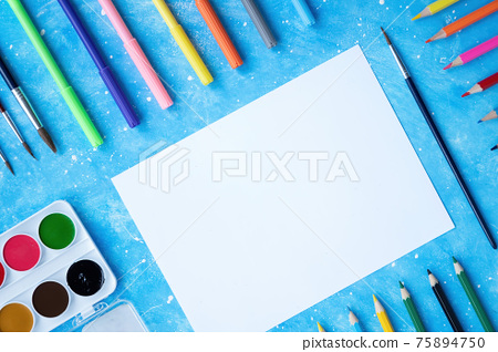 ?omposition of painting appliances 75894750